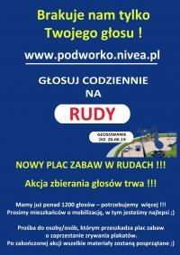 Podwórko talentów NIVEA na LKS'e BUK Rudy. Trwa głosowanie!