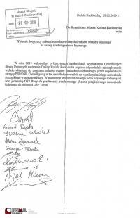 Dofinansowanie zakupu wozu dla OSP Rudy