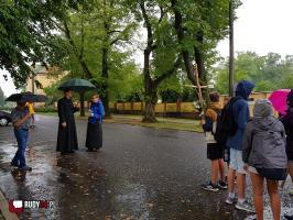 Ruszyła parafialna pielgrzymka  na Górę Św. Anny