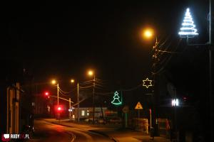 Świąteczny nastrój na ulicach Rud