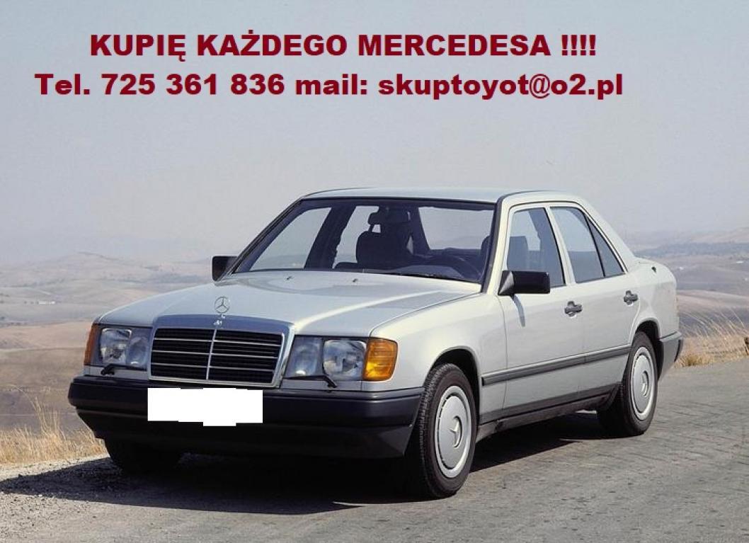 Kupie Mercedesa 124 W124 190 W201 W202