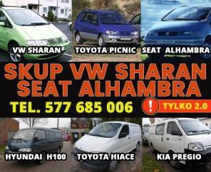 KUPIĘ PILNIE VW SHARAN SEAT ALHAMBRA